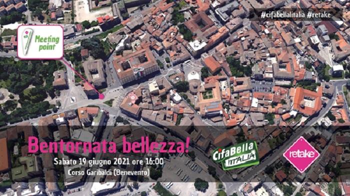 """""""Bentornata bellezza!"""" sbarca a Benevento Retake in partnership con Cif"""
