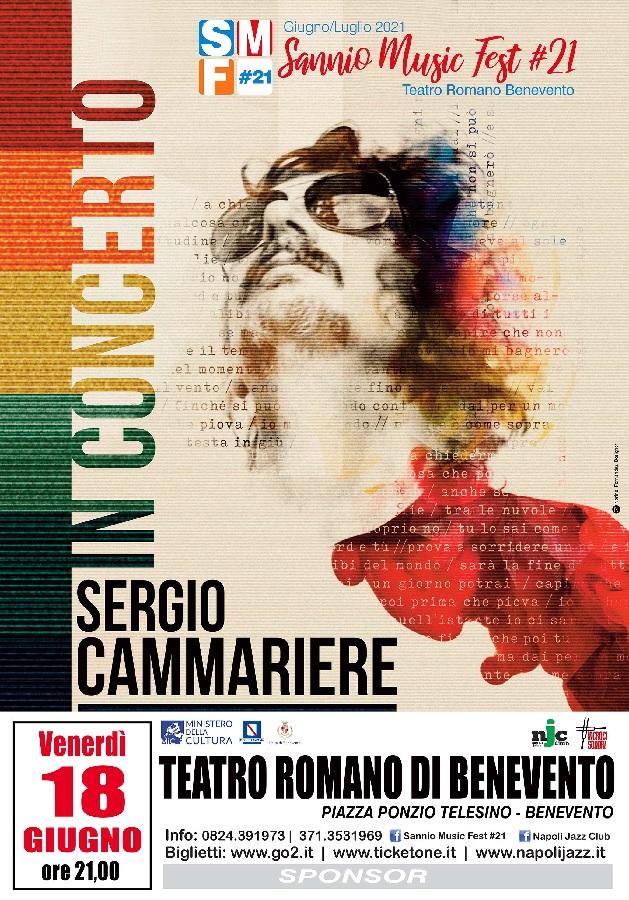Teatro Romano Benevento. Verso il sold out per Sergio Cammariere.