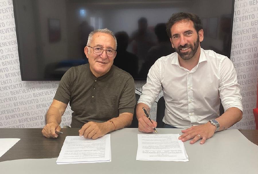 E' ufficiale, Caserta è il nuovo allenatore del Benevento Calcio