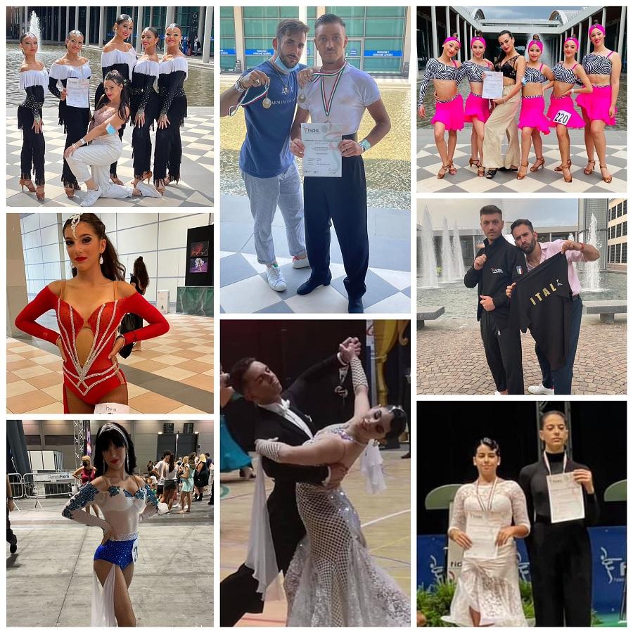 Campionati di Danza Sportiva. L'atteso ritorno in pista degli atleti Olympia DanceSport Studio di San Giorgio del Sannio