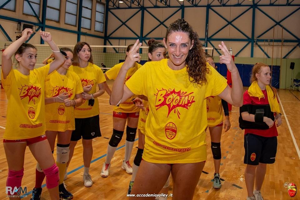 Accademia Volley. Poker servito, Anna Pericolo veste ancora giallorosso