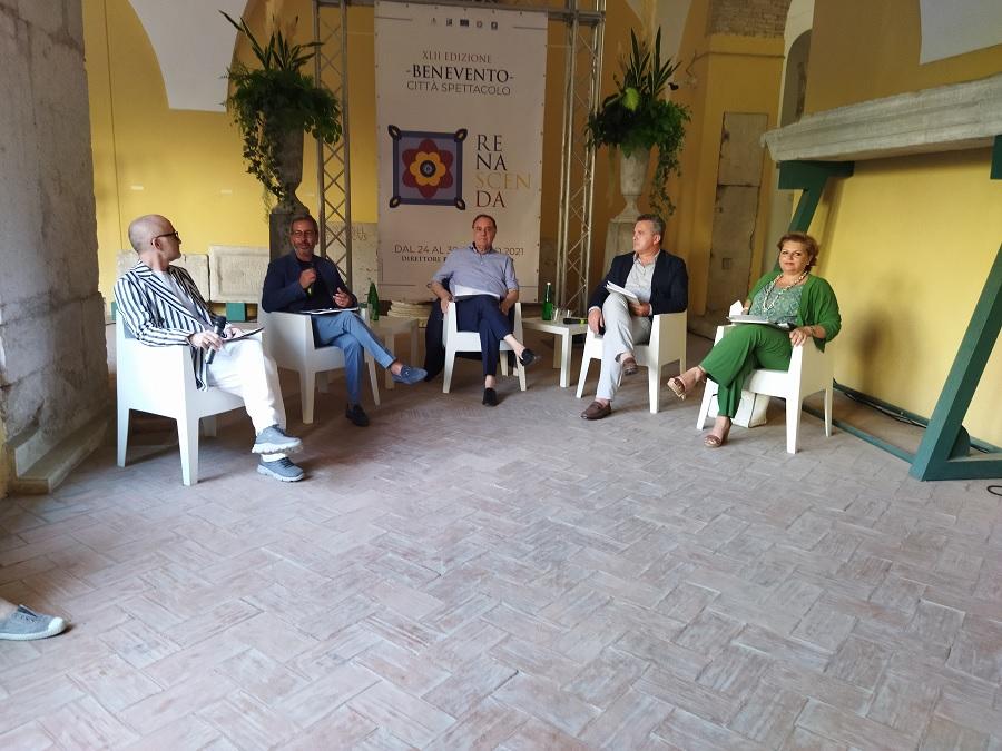 La XLII Edizione di Benevento Città Spettacolo presentata nel suggestivo Chiostro di Santa Sofia.