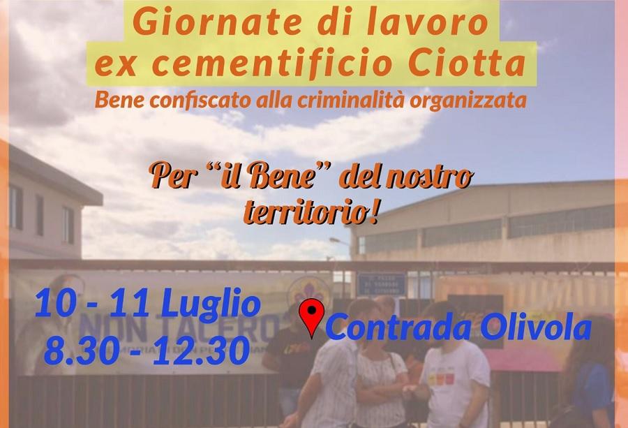 Libera:Domani e Domenica due mattinate di impegno e lavoro presso il bene confiscato di Contrada Olivola