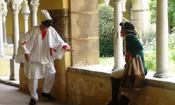 """Presso i Giardini del Teatro De Simone andrà in scena """"Pulcinella e il mistero del castello"""" della compagnia Teatro Eidos"""