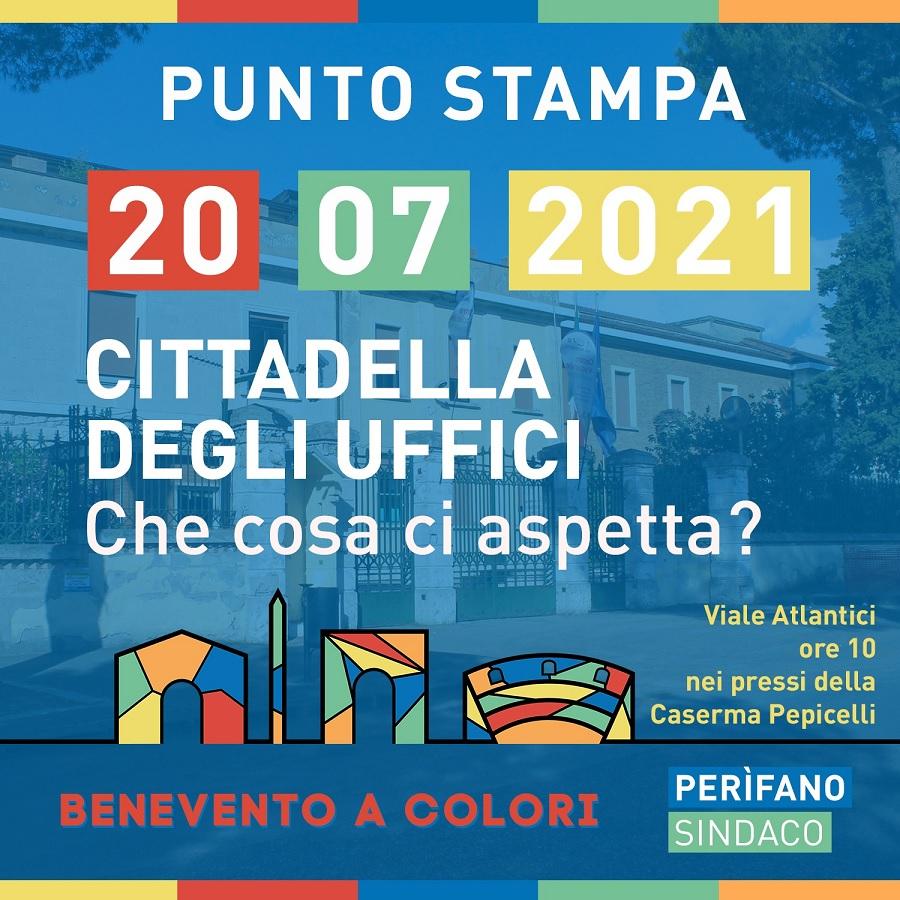 Incontro con il candidato sindaco Luigi Diego Perifano: Cittadella degli Uffici.Che cosa ci aspetta?