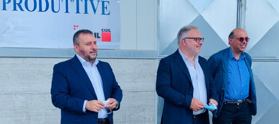 """Scalo merci zona Asi, Errico: """" Lavorare in sinergia per concretizzare il progetto"""""""