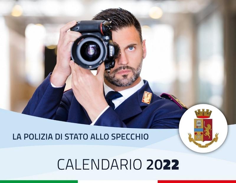 Il Calendario della Polizia di Stato 2022 racconterà l'attività operativa di uomini e donne al servizio della comunità