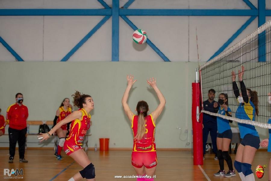 Accademia Volley young con Guerriero e De Santis
