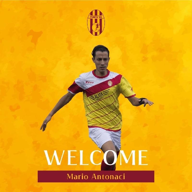 Ponte'98, Antonaci torna ad indossare la maglia giallorossa