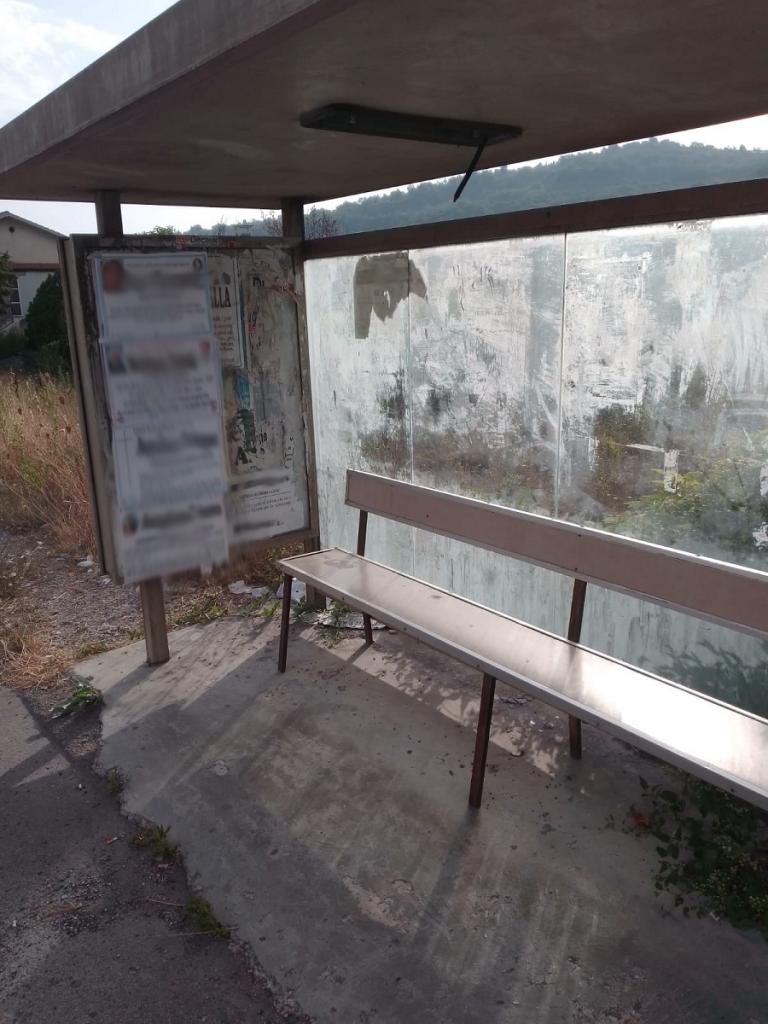 """Degrado urbano, Izzo (Città Aperta): """"In zona Epitaffio c'è la pensilina dell'eterno riposo"""""""