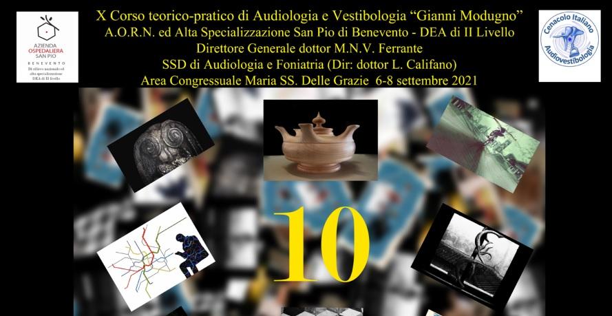 """A.O.R.N. """"San Pio"""" : Corso teorico-pratico di Audiologia e Vestibologia """"Gianni Modugno"""""""