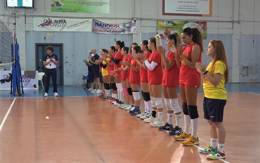 All'Accademia il primo derby con la Volare: giallorosse terze al 1° Trofeo Città di San Salvatore Telesino