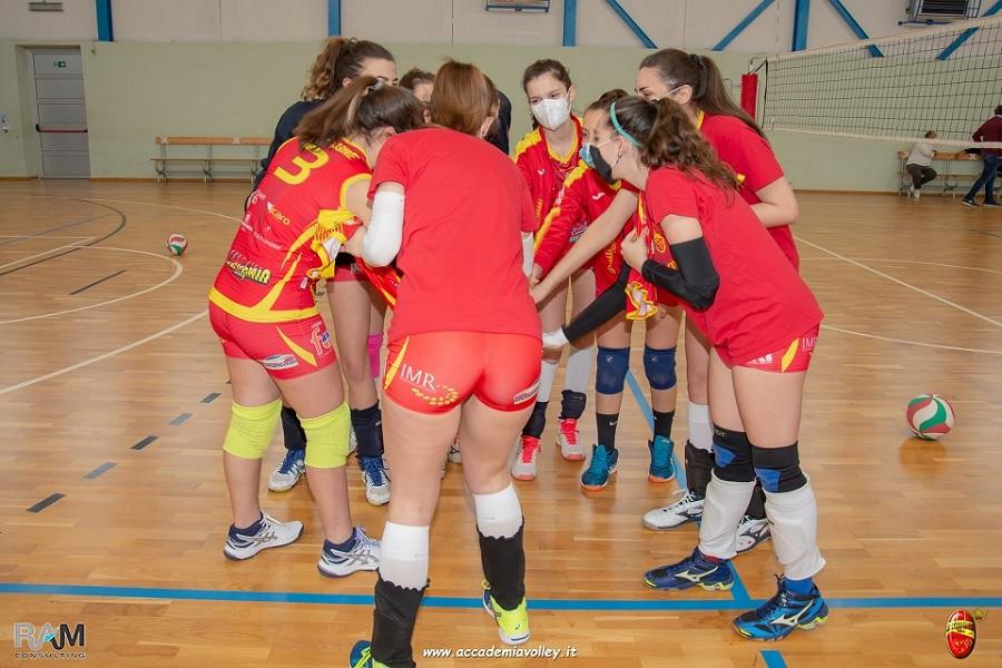 Campionato di B2 Accademia Volley, Ricciardi e Malatesta  ancora in Accademia