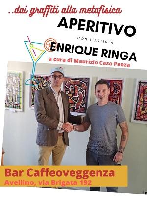 """Presentato questa mattina il progetto artistico itinerante """"aperitivo con l'artista"""" di Maurizio Caso Panza"""