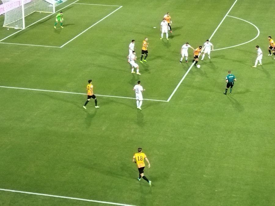 Il Benevento soffre ma quando entra Lapadula dilaga: Benevento 4 Cittadella 1