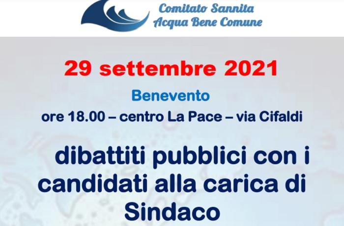 Acqua e forma di gestione, il Comitato Sannita ABC ha invitato ad un dibattito pubblico il candidato sindaco Angelo Moretti