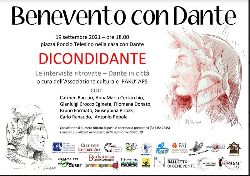 I prossimi appuntamenti della rassegna Benevento con Dante organizzata da Culture e Letture aps