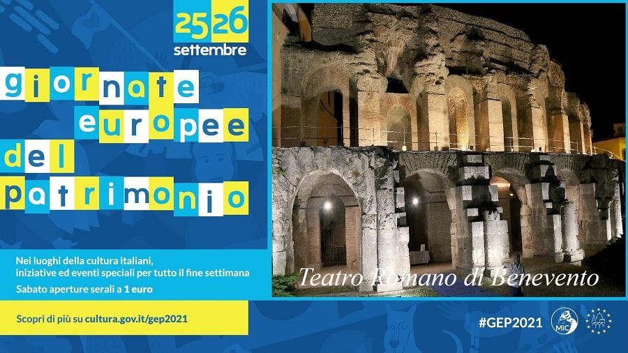 Teatro Romano: aperture straordinarie il 25 e il 26 settembre 2021, in occasione delle Giornate Europee del Patrimonio