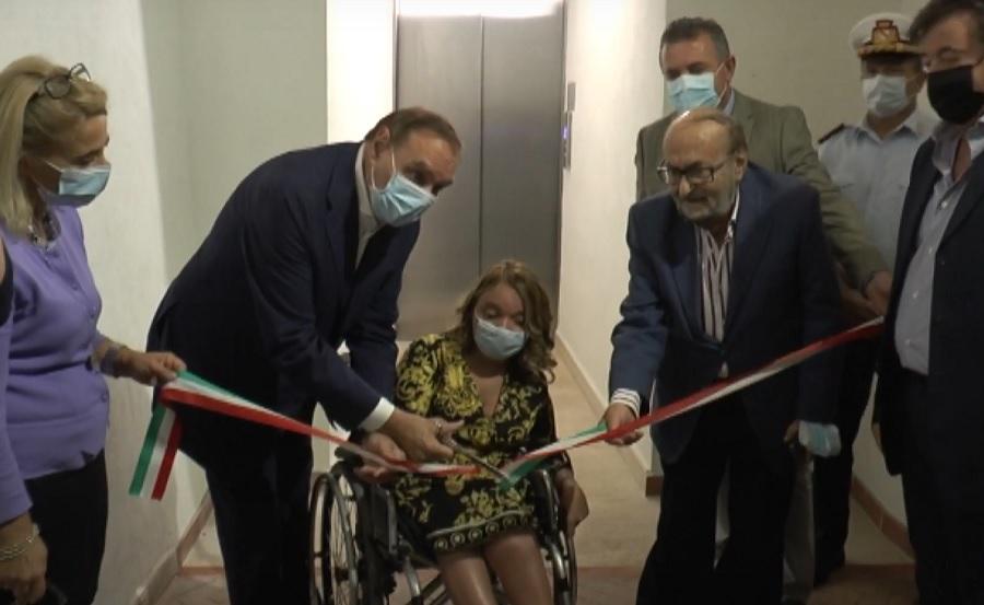 Benevento. Palazzo Mosti ha il suo ascensore per la Mobilità Sostenibile