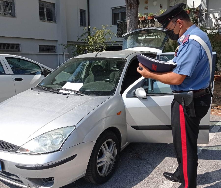 Pontelandolfo. Banda di ladri intercettata dai Carabinieri si da alla fuga