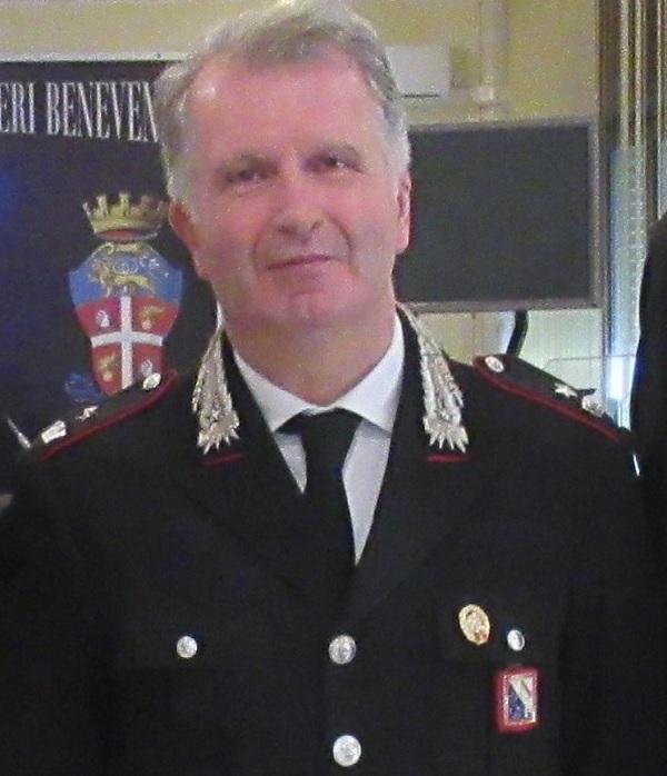 Benevento: l'Arma dei Carabinieri saluta il Maggiore Di Cicco che oggi ha lasciato il servizio attivo