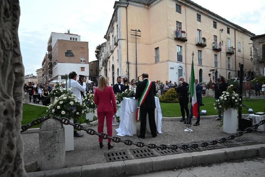 Cresce l'interesse per la celebrazione dei matrimoni nei luoghi storici della città Benevento
