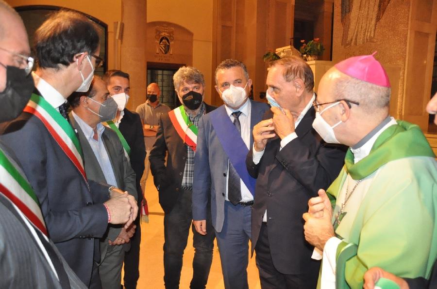 L'omaggio delle Istituzioni alle vittime del Covid 19 nel Sannio