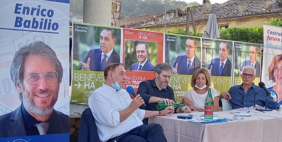 """Babilio (Noi Campani) si presenta alla città: """"tante idee per Benevento e Santa Colomba"""""""