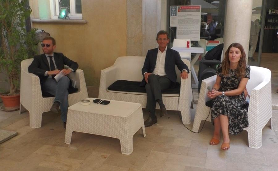 Il vicesegretario nazionale del Pd Giuseppe Provenzano a Benevento in appoggio alla candidatura di Perifano