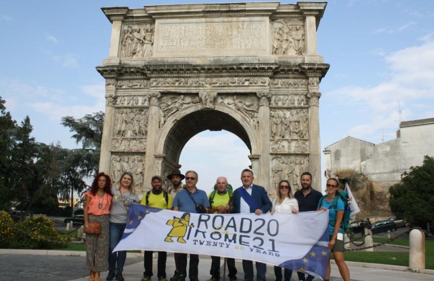 """Il benvenuto ed il saluto del Sannio ai partecipanti alla """"Via Francigena. Road to Rome 2021"""""""