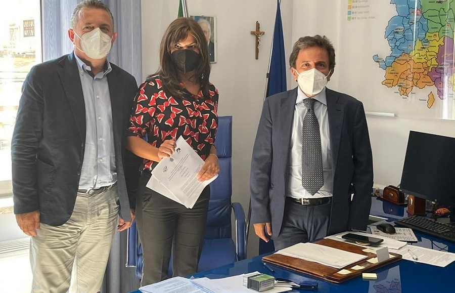 Percorso sperimentale di Pet Therapy ed ed Orticoltura. Intesa tra Provincia di Benevento e l'Associazione Nitrì