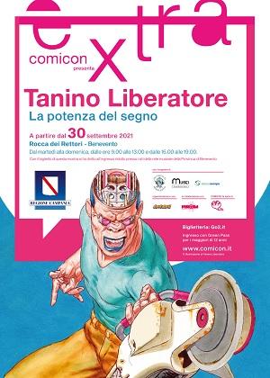 """Tutto pronto per la personale  """"Tanino Liberatore.La Potenza del Segno"""" presso la Rocca"""