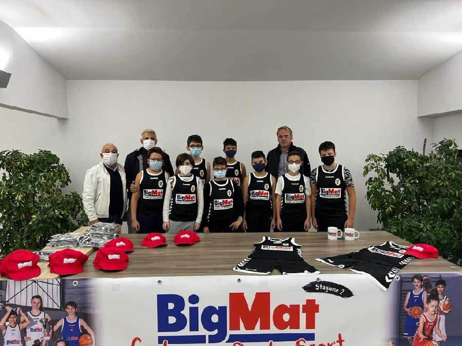 Edil Appia Basket Sant'Agnese: Bigmat nuovo sponsor per il 2021/22