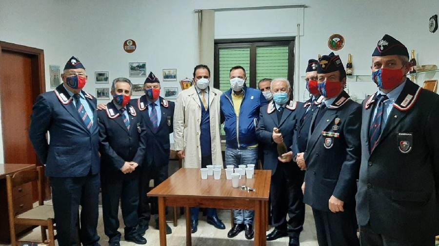 Il Comune di Telese Terme sigla una convenzione con l'Associazione Nazionale Carabinieri