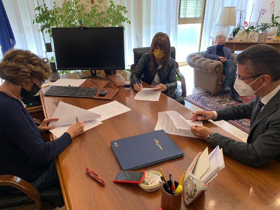 Unisannio – Tribunale, firmata convenzione. Il lavoro di pubblica utilità entra all'Università del Sannio
