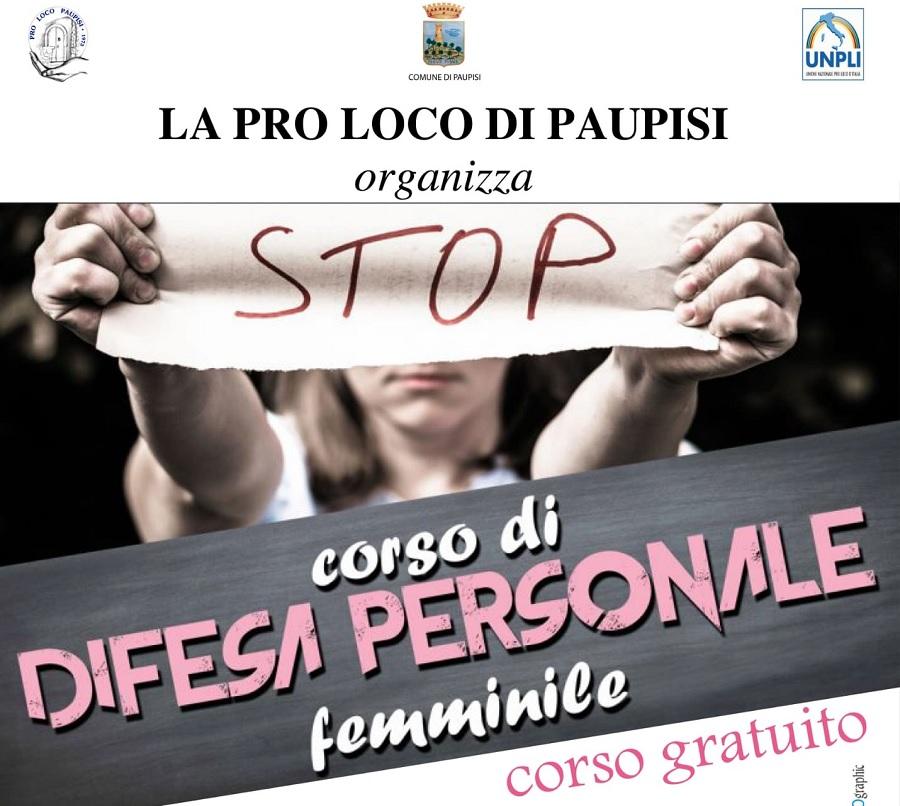 Pro Loco, al via il corso di difesa personale femminile