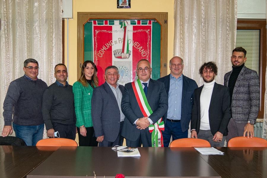 Pago Veiano.Confermata la giunta degli anni passati. Pietro De Ieso nuovo vice-sindaco.