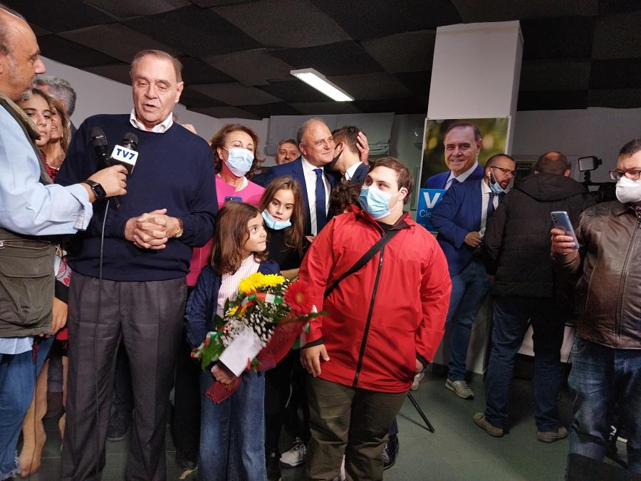 Ballottaggio, vince Mastella riconfermato sindaco di Benevento