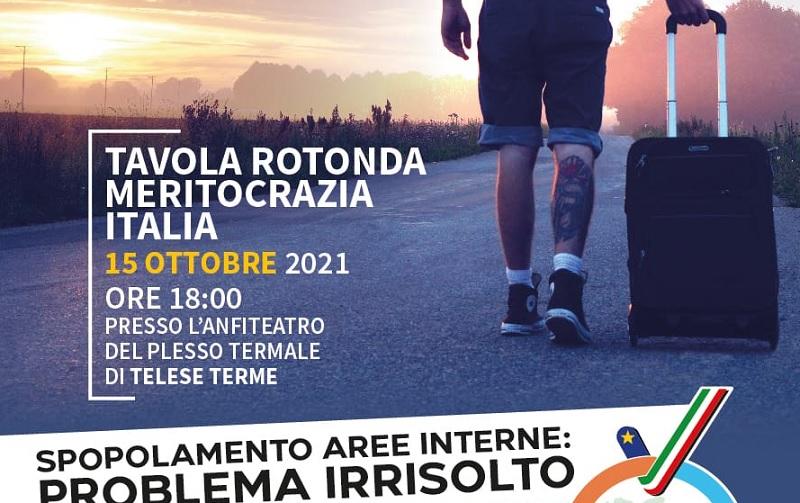 Spopolamento delle aree interne: se ne parlerà venerdì prossimo a Telese Terme
