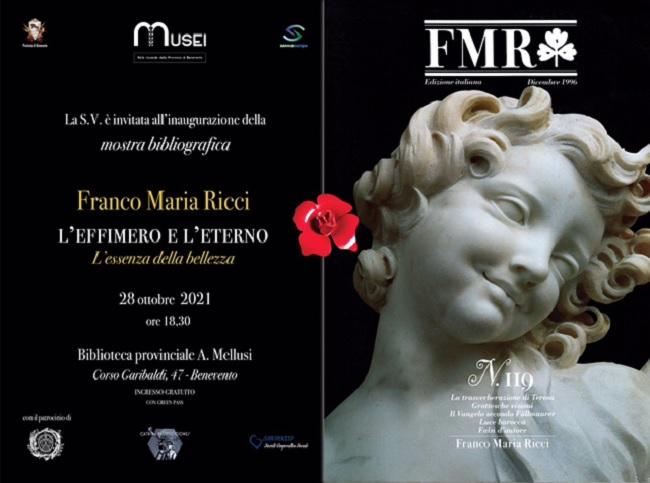 Presso la Biblioteca Provinciale l'inaugurazione della Mostra dedicata a Franco Maria Ricci