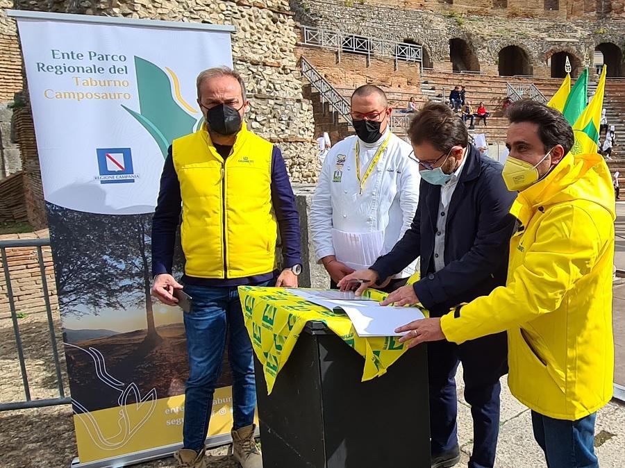 Unesco,firmato il protocollo tra Coldiretti,Terranostra e Parco del Taburno
