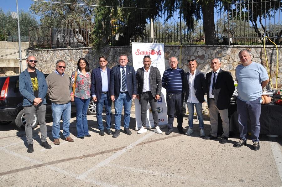 Di Maria alla presentazione di Sannio Orti l'iniziativa del Gal Alto Tammaro