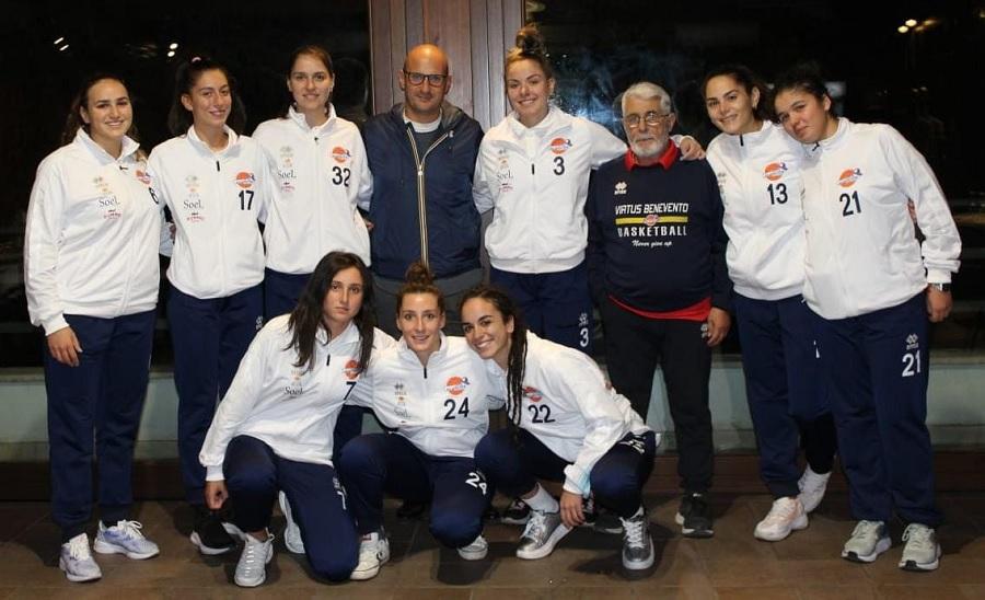 Basket femminile, la Soel Benevento a caccia del bis contro Cercola