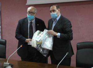 """Mastella dona caschi di ventilazione al San Pio. Ferrante : """"Noi operativi da subito"""""""